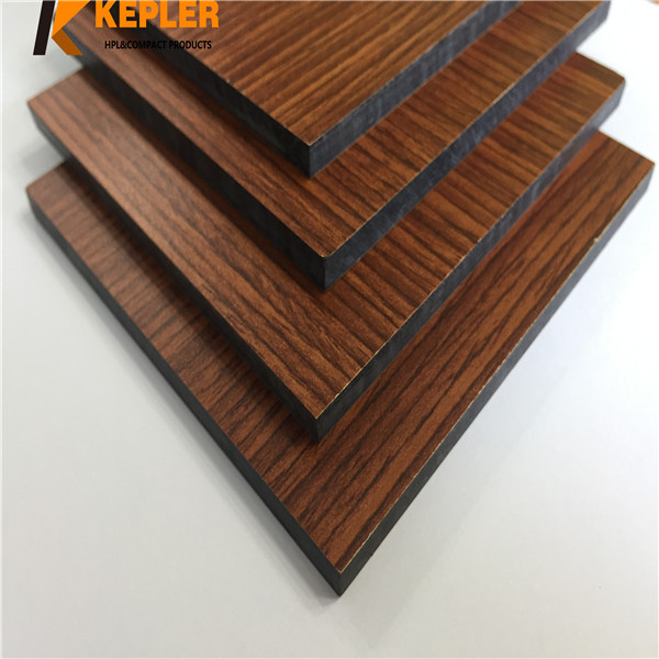 HPL Compact Laminate Wall Cladding Panel/Compact Laminate Board/ Colorful High Pressure Laminate Sheet Manufacturer in China