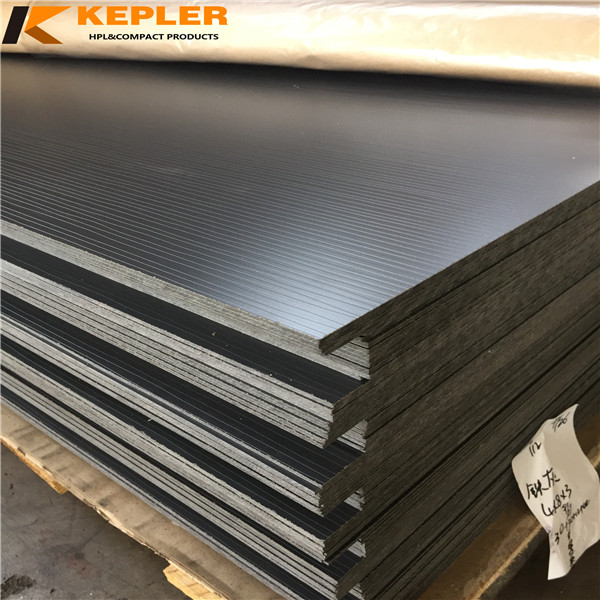 Kepler decorative waterproof fireproof 1220*2440*3mm special textured surface phenolic compact  laminate hpl board