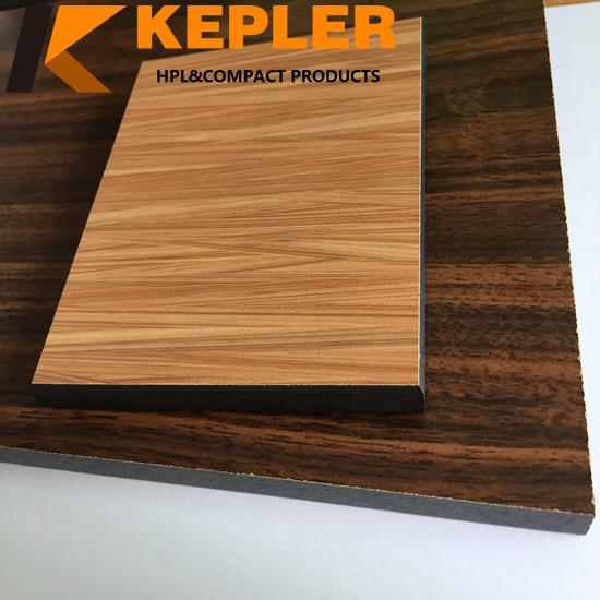 Kepler Colorful Decorative High glossy hpl Phenolic Compact Laminate Panel Manufacturer In China