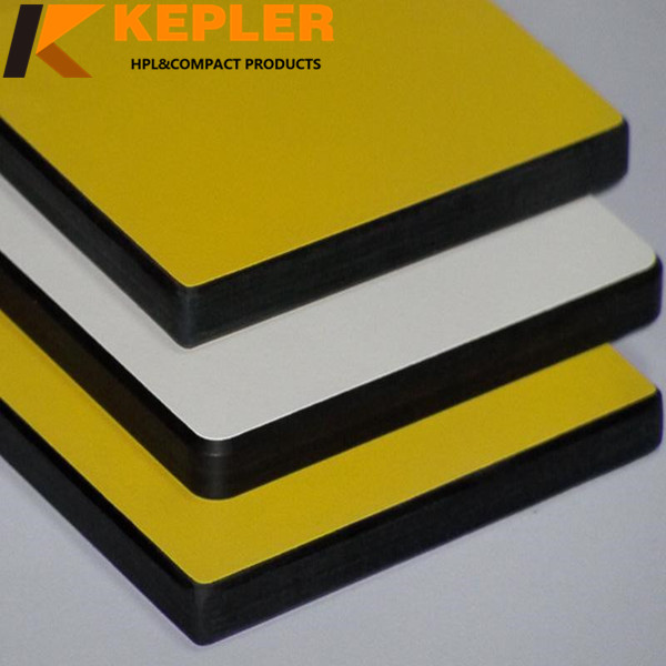 12mm Phenolic Compact Hpl Table Top Panel /Compact Laminate Board/ Colorful High Pressure Laminate HPL Sheet Manufacturer in China