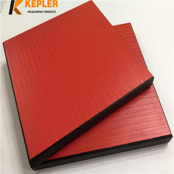 Kepler special texture surface 8mm 12mm rich color widely used phenolic compact laminate board hpl panel manufacturer in China