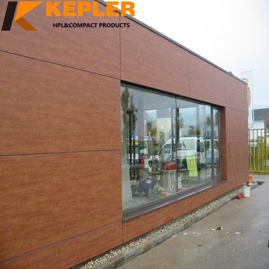 Exterior anti-UV compact hpl wall cladding with great price outdoor use