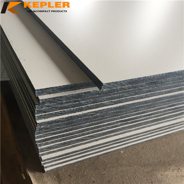 Kepler waterproof decorative matt surface compact laminate hpl board