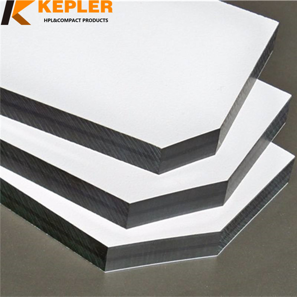 Kepler high quality and density phenolic resin compact laminate hpl panel supplier in China