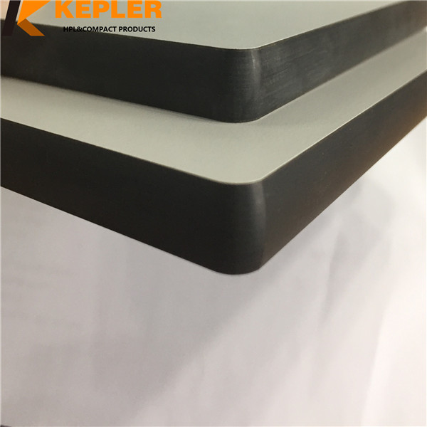 HPL Compact Phenolic Panel/Compact Laminate Desktop/ Colorful High Pressure Laminate hpl table top board Manufacturer