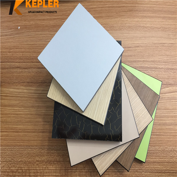 Phenolic Compact Toilet Partition Panel/Compact Laminate Board/ Colorful High Pressure Laminate hpl shower partition sheet Manufacturer