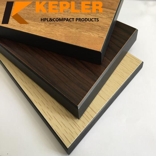 Kepler professional manufacturer of 18mm thick waterproof compact laminate round hpl coffee table top - 副本