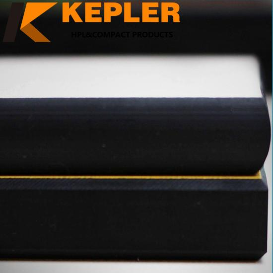 Kepler high quality warranty marble finish round square rectangle hpl compact laminate board for table top