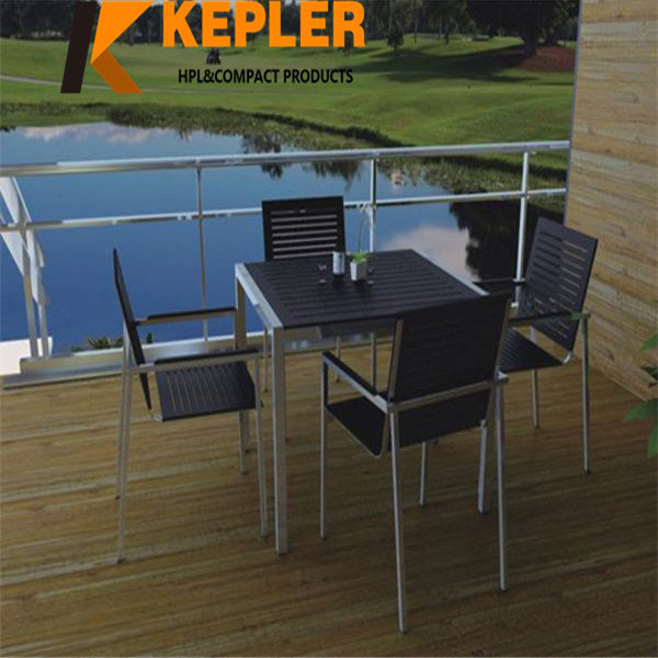 Kepler customized anti-UV outdoor durable waterproof phenolic resin compact laminate table top