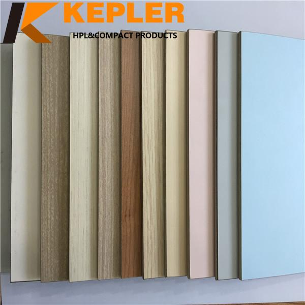 Kepler 8 mm thickness decorative compact laminate hospital wall covering panels