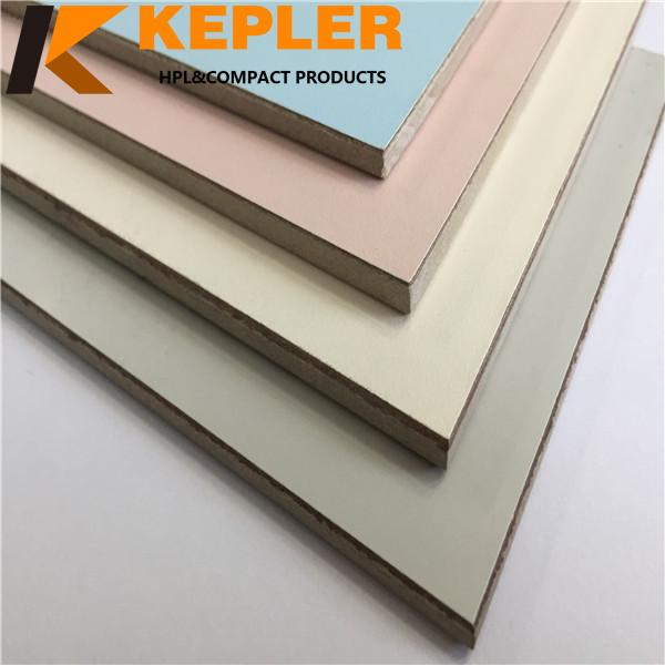 Kepler 8 mm thickness interior decorative phenolic compact laminate hpl panel for hospital wall covering price
