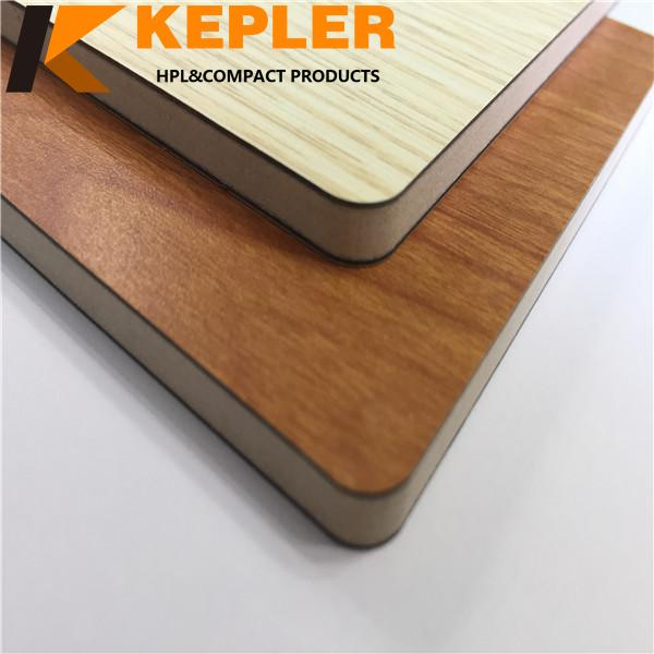 Kepler wood grain medical compact laminate hpl board