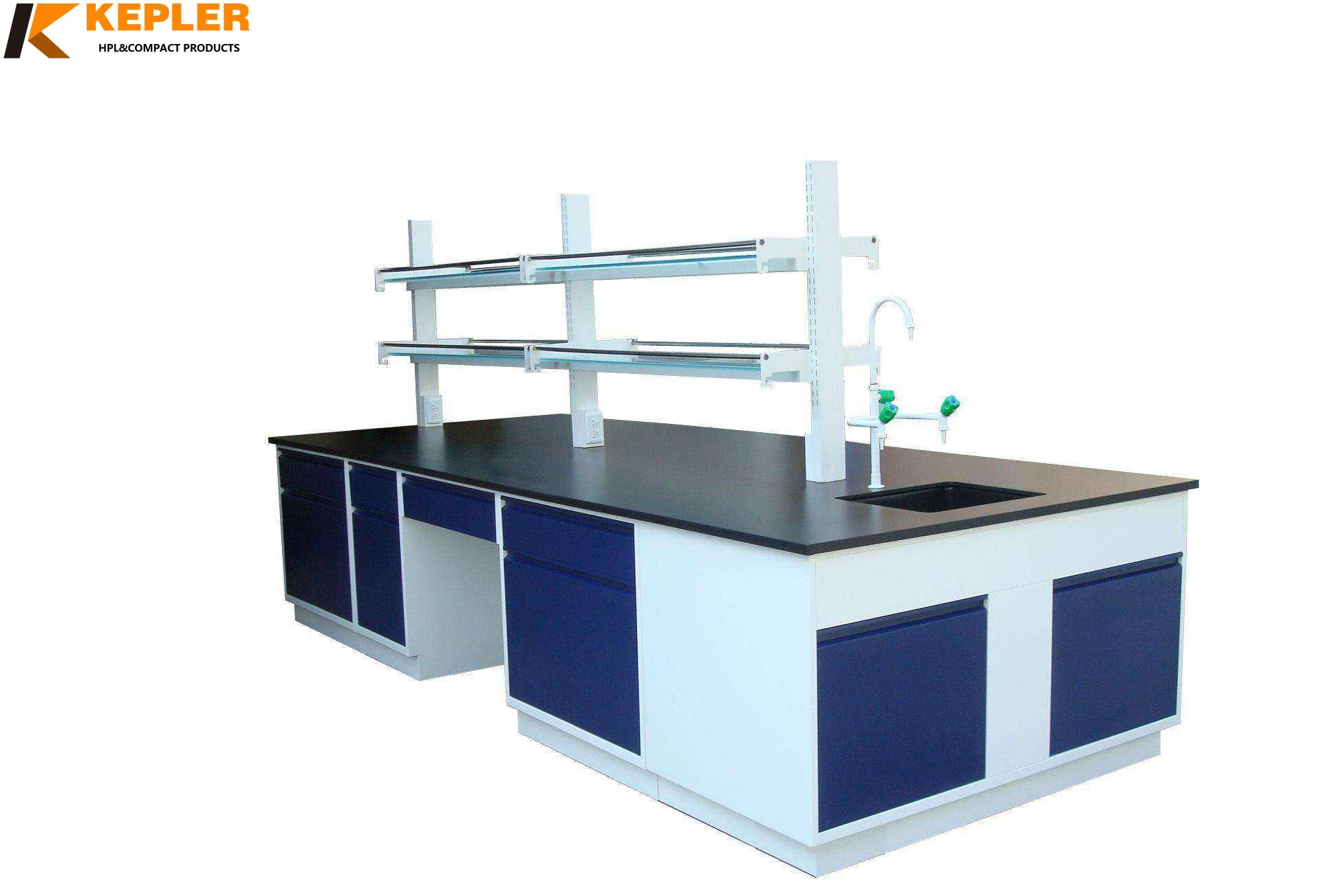China factory price chemical resistant hpl lab table top