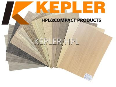 Kepler TH horizontal stripes special surface high pressure laminate hpl formica sheet with wood grain color