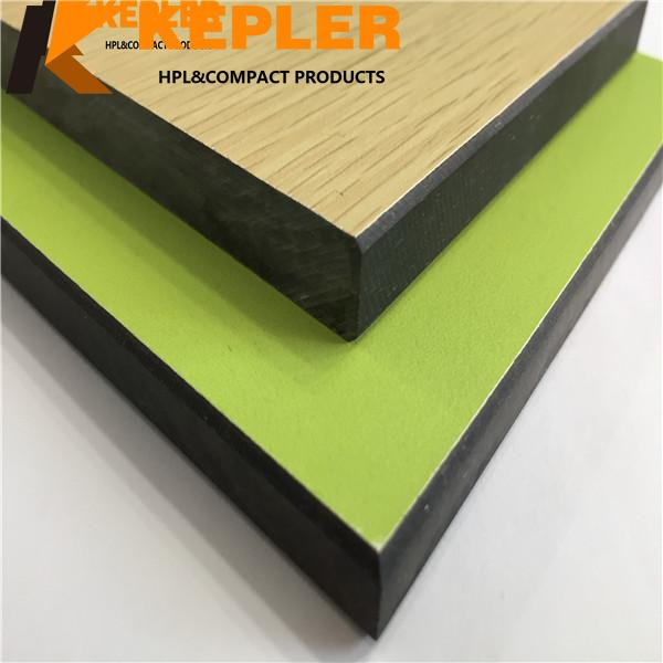 Phenolic Compact Locker Panel/Compact Laminate Board/ Colorful High Pressure Laminate HPL Sheet Manufacturer in China
