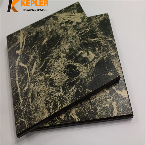 Kepler 8mm high quality stone marble matt surface phenolic resin board compact laminate hpl wall caldding panel supplier with best price