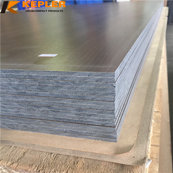 Exterior 8mm waterproof anti-UV compact hpl wall cladding panel with great price outdoor use