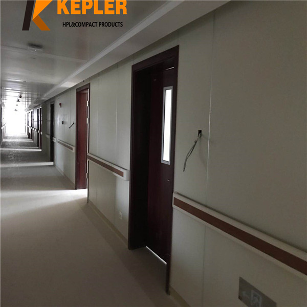 Kepler 6mm thickness interior decorative phenolic compact laminate hpl  hospital wall covering  panel