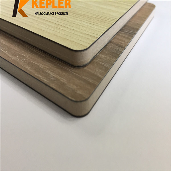 Kepler wood grain medical laminate hpl sheets