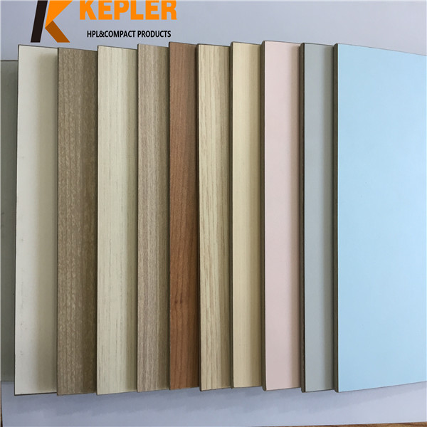 Kepler impact resistance fireproof and waterproof interior decorative compact laminate wall panel for hospital