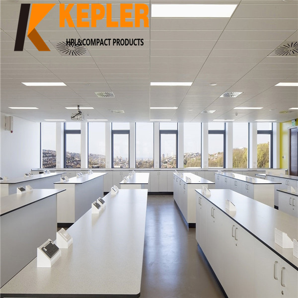 Kepler antibacterial phenolic board HPL chemistry laboratory Lab work table Kepler antibacterial phenolic board HPL chemistry laboratory Lab work table
