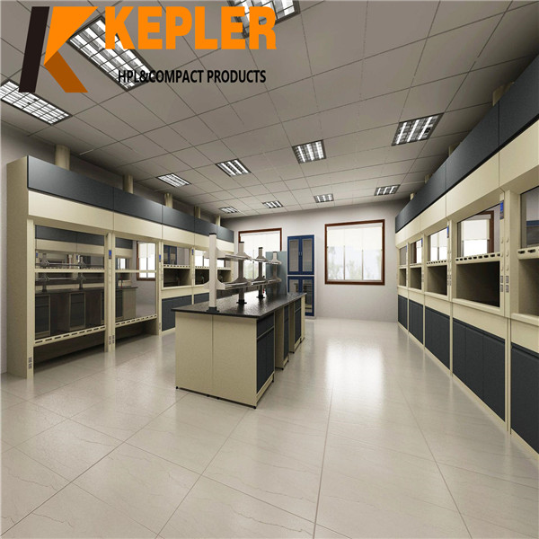 Kepler school hospital used lab chemical resistant board HPL compact high pressure laminate table top