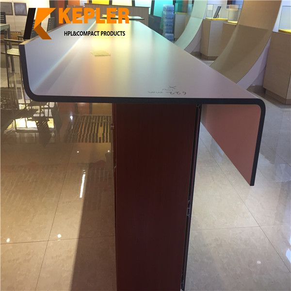 Kepler advance rich color waterproof post forming compact laminate hpl panel manufacturer