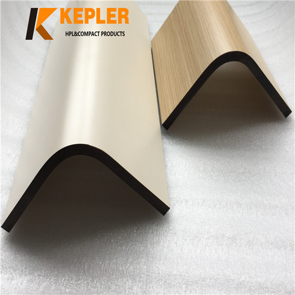 Kepler factory price 8mm waterproof fireproof postforming phenolic resin compact laminate hpl board manufacturer in China