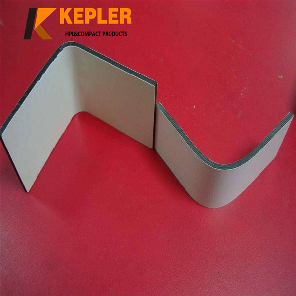 Kepler Post form Phenolic Resin Compact Laminate Interior and Exterior Wall Covering Panels