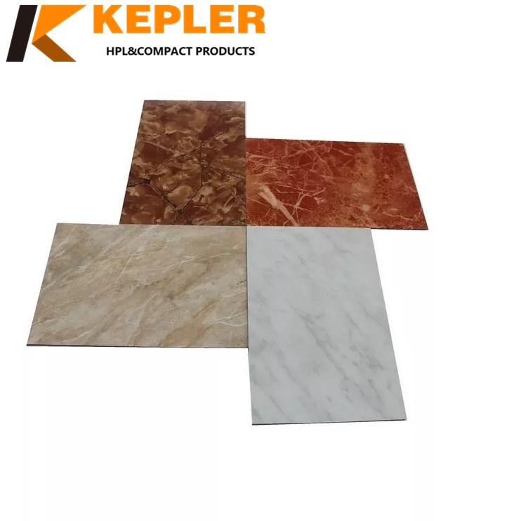 Kepler exterior 8mm thick anti-UV phenolic wall cladding and partition board