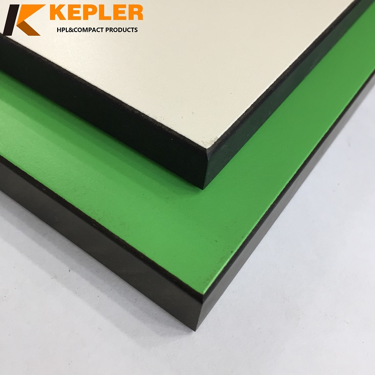 Kepler 12mm 15mm bathroom  toilet cubicle  phenolic compact laminate HPL divider panel manufacturer