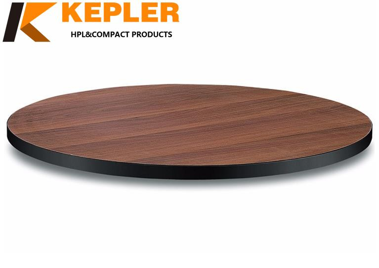 Kepler professional manufacturer of waterproof rich color easy to clean compact laminate rectangle dining table top
