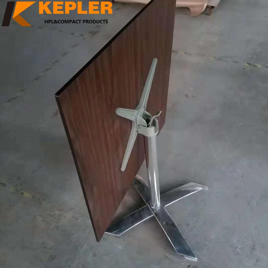 Kepler Customized manufacturer of high pressure laminate durable compact hpl cafe table top