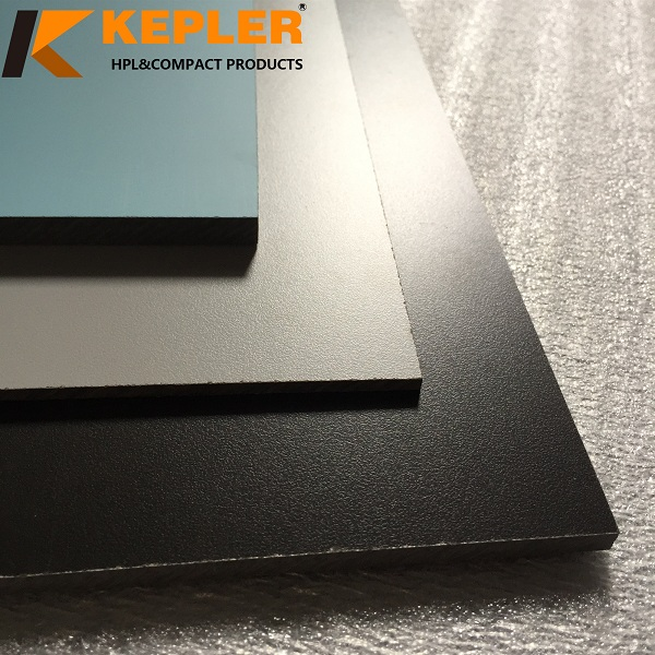 Kepler customize matt glossy phenolic compact laminate hpl table top panel manufacturer