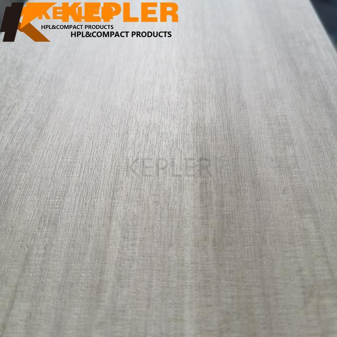 Kepler HPL High Pressure Laminate Fireproof Board Compact Laminate Sheet Wood Grain with Naturelle Wood Grain Finish