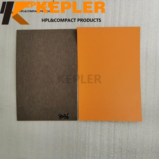 Kepler HPL High Pressure Laminate Sheet Compact Laminate Board Solid Color 8036 with Matt Finish