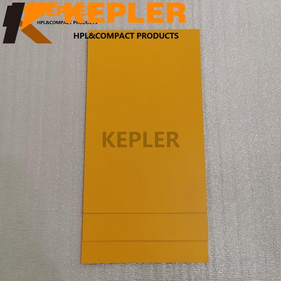 Kepler HPL High Pressure Laminate Sheet Compact Laminate Board Solid Color 8061 with Matt Finish