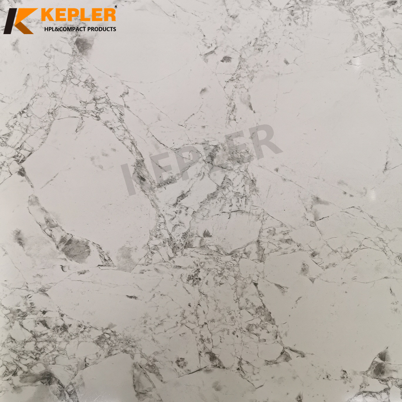 Kepler Marble Design 2mm HPL Compact Board Used in Bathroom