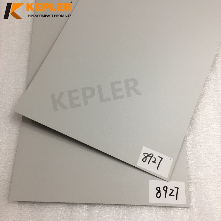 Kepler HPL High Pressure Laminate Sheet Solid Color 0.7mm for Furniture Surface