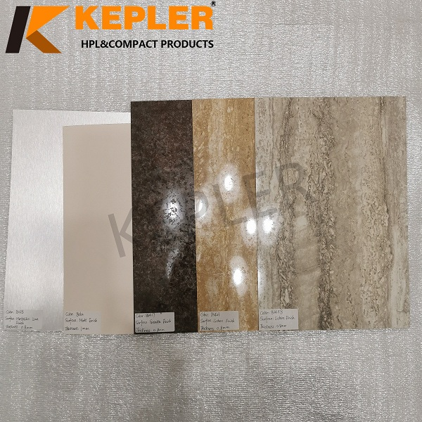Kepler 0.7/0.8/1 mm 1220*2440mm High Pressure Laminate Sheet