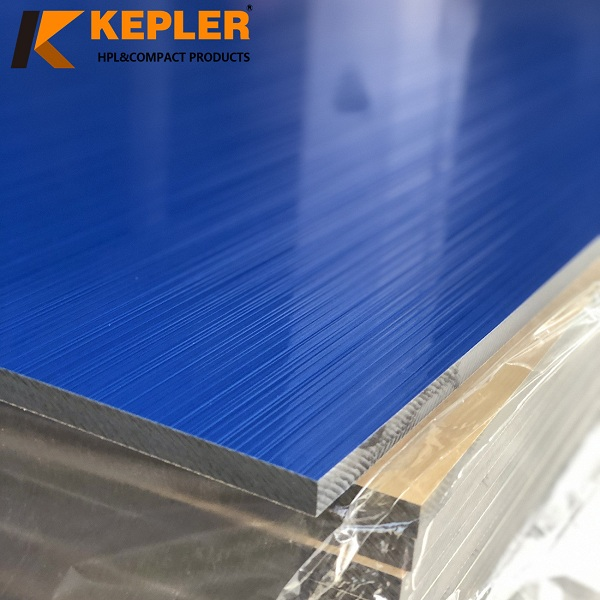 Kepler HPL Compact Laminate Board Solid Blue Color